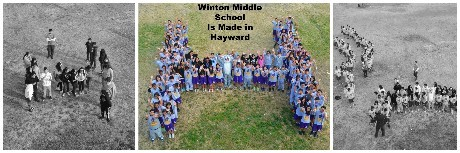Made in Hayward - Winton Middle School!